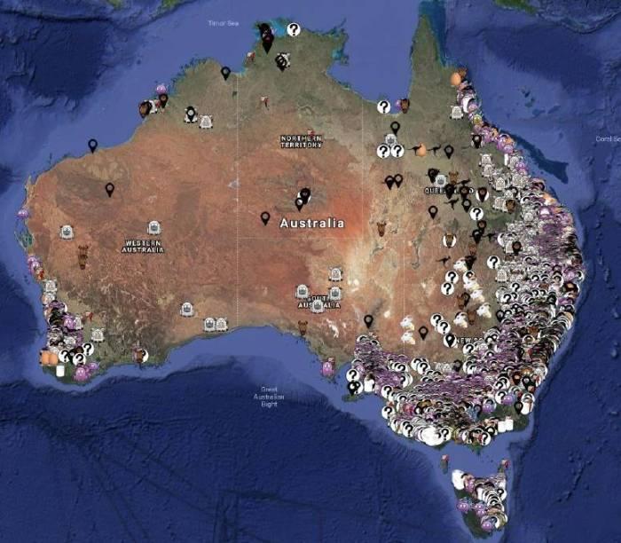 aussie farms map
